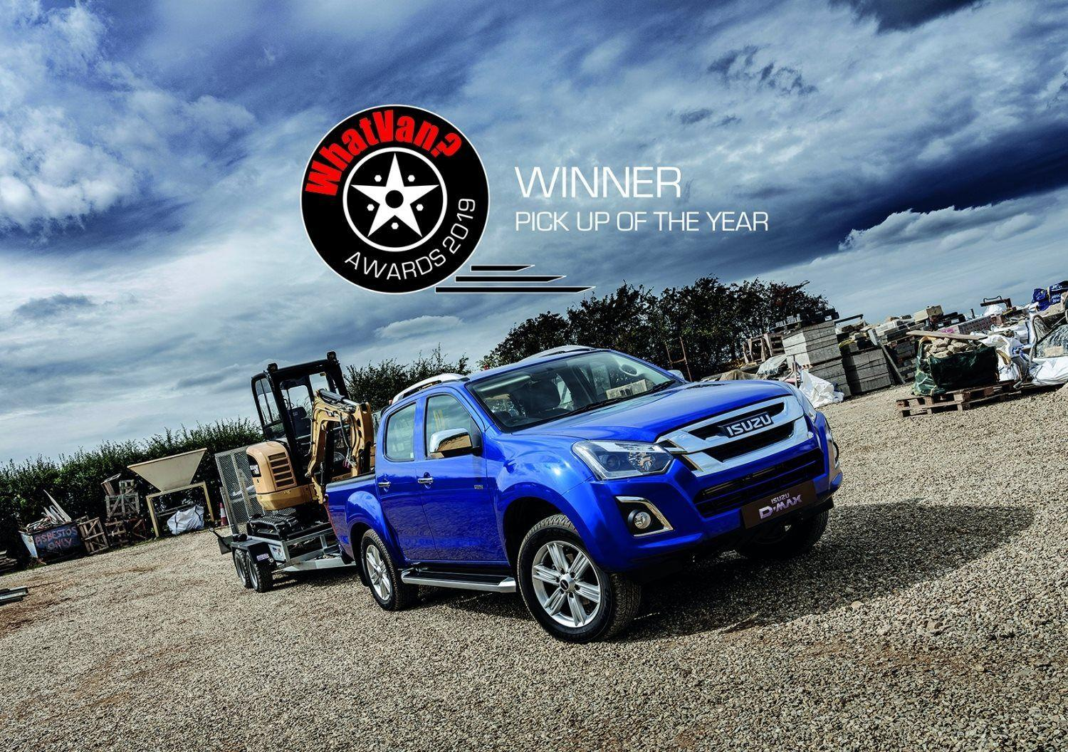 ISUZU D-MAX TRIUMPHS IN THE 2019 WHAT VAN? AWARDS